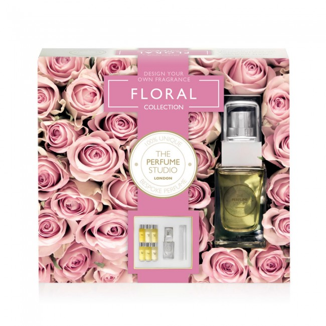 The perfume studio design your own fragrance at home the floral design your own fragrance the floral collection mightylinksfo