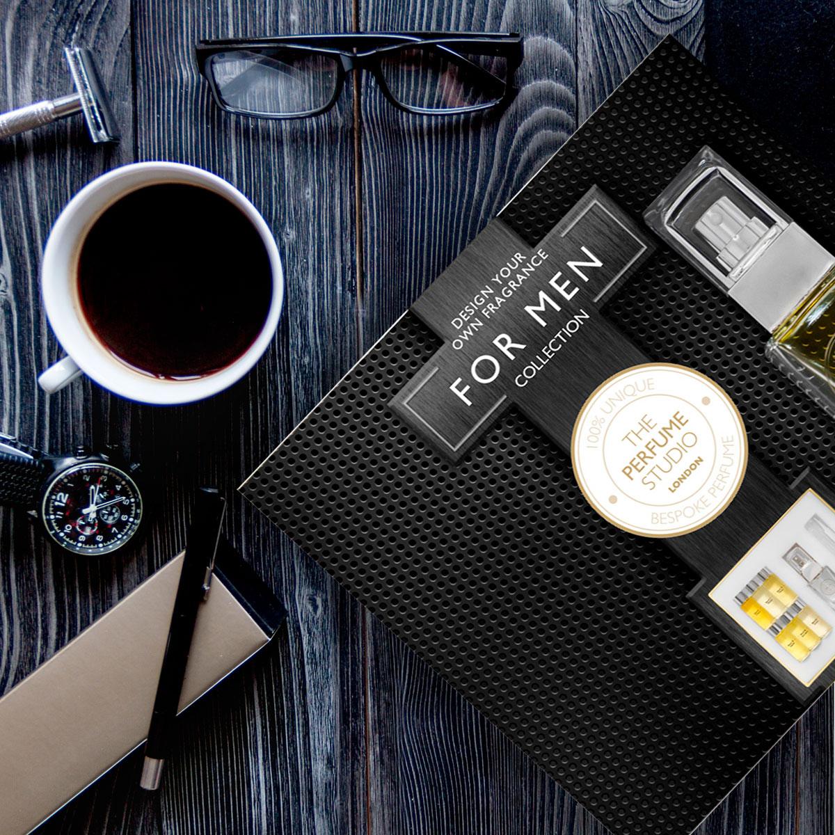 The Perfume Studio Unique Fragrance Design Gift Set For Men