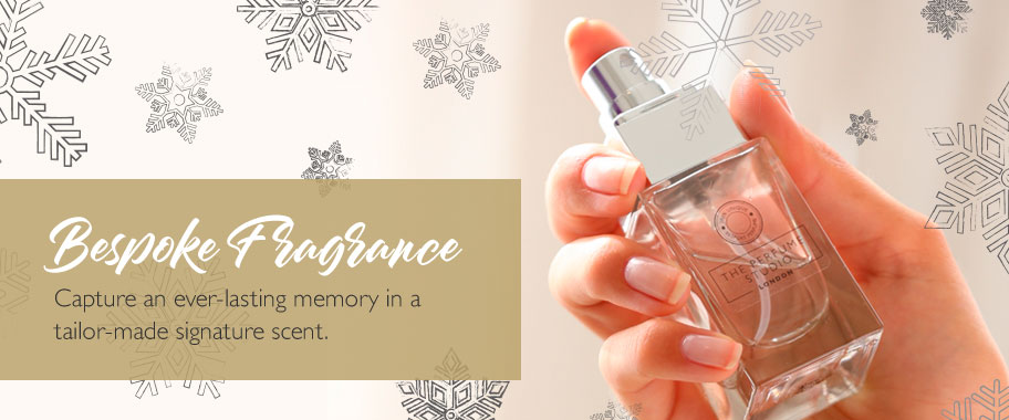Bespoke Fragrance - Create an ever-lasting memory and capture it in a signature scent.
