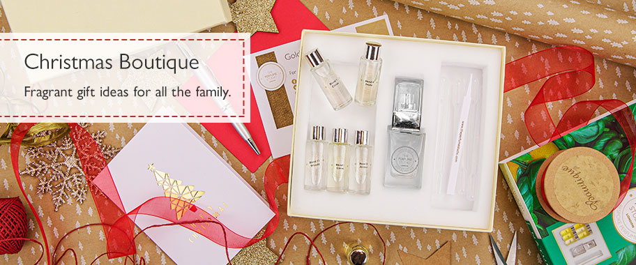 Unique Christmas Boutique; Fragrant Gifting at it's best.