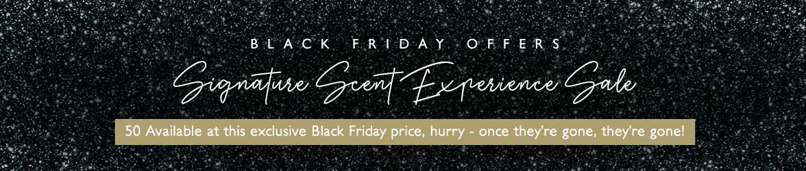 Black Friday Signature Scent Experience Sale - Only 50 available