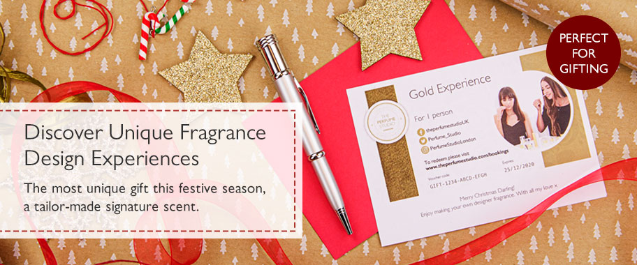 Discover unique gift ideas for all the family. Fragrance design experiences everyone will love.