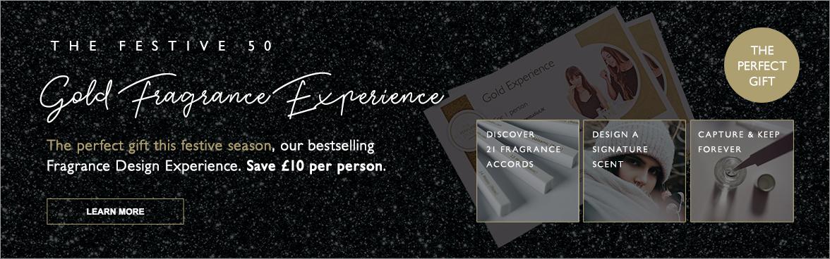 Festive 50 - Signature Scent Experience Sale.