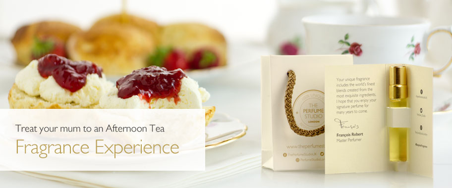 Treat your mum to an Afternoon Tea Fragrance Experience