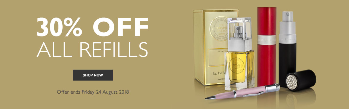 30% OFF ALL REFILLS - Offer ends Friday 24 August 2018. Shop Now.