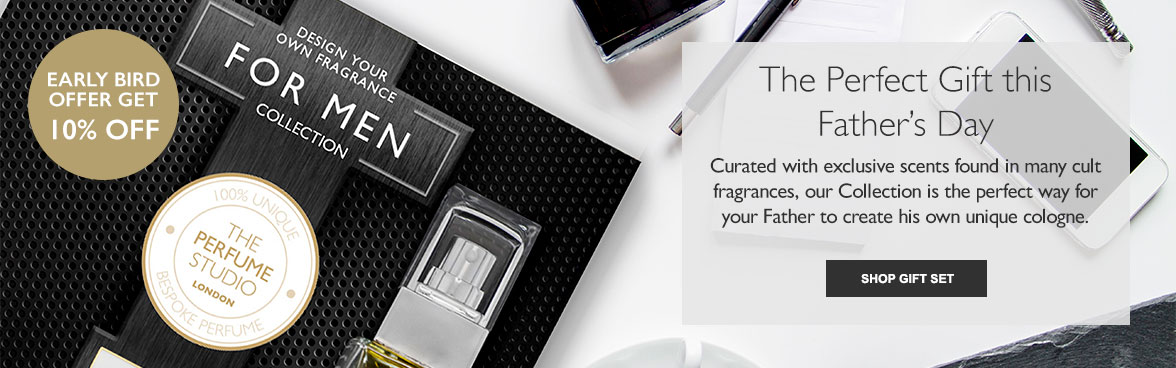 Design Your Own Fragrance - For Men Collection. Create a distinctively masculine fragrance with our selection of blends chosen exclusively for men.