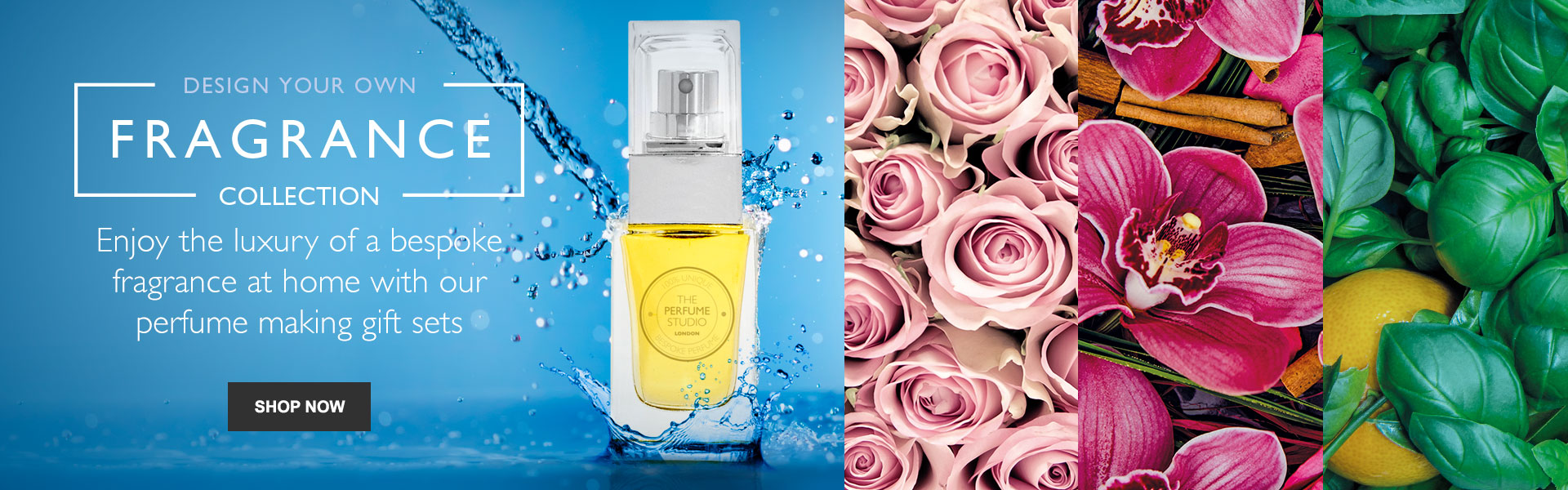 Design Your Own Fragrance Collection - Enjoy the luxury of a bespoke fragrance at home with our perfume making gift sets