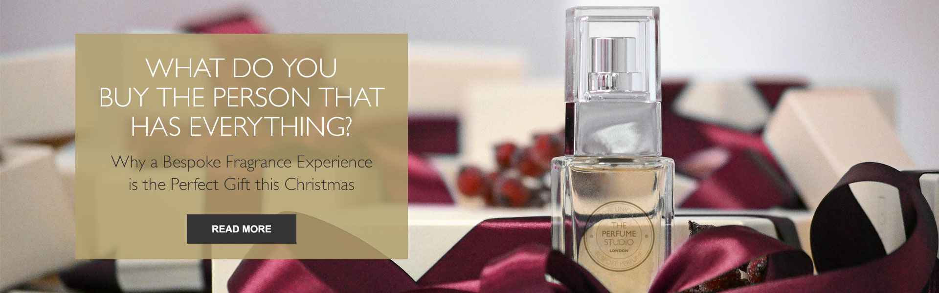What do you buy the person that has everything? Why a Bespoke Fragrance Experience is the Perfect Gift this Christmas