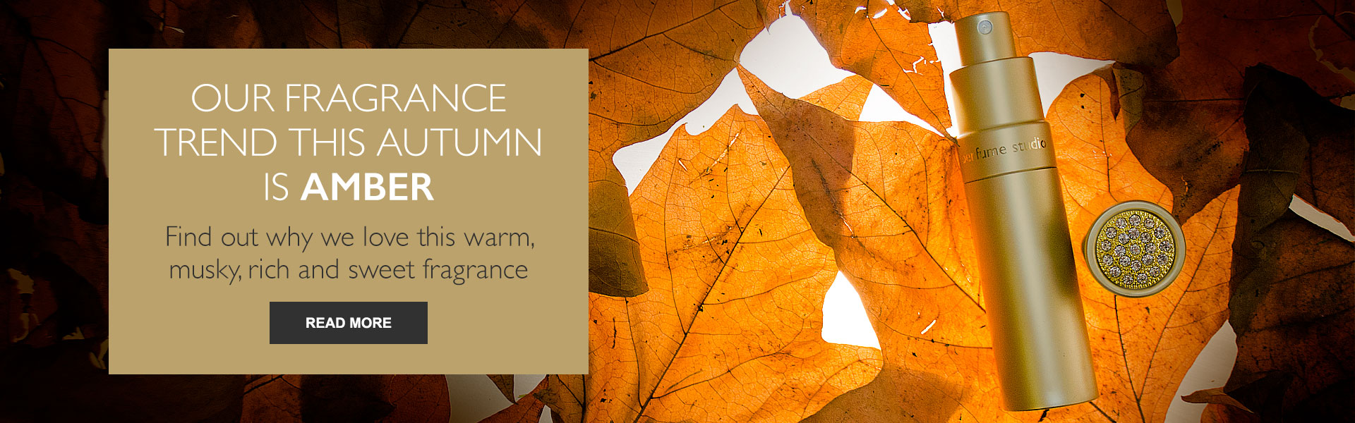 Our fragrance trend this autumn is AMBER - Find out why we love this warm, musky, rich and sweet fragrance