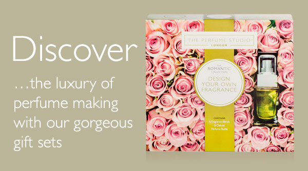 Discover the luxury of perfume making with our gorgeous gift sets