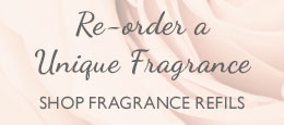 re-order a unique fragrance - shop fragrance refills